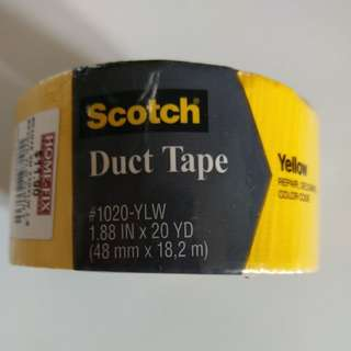 3M Yellow Duct Tape