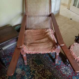 Peranakan Antique Planter Chaise Lounge
