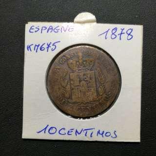 西班牙1878