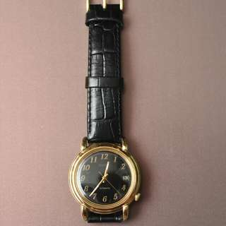 1984 Seiko automatic gold dress watch 7002-8010