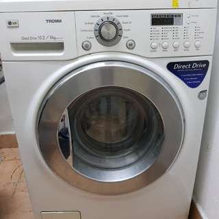 LG washer/dryer + ELECTROLUX dryer combo for sale