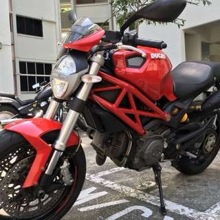 Ducati Monster 796 ABS Version, Low Mileage