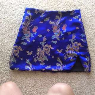 Chun Li miniskirt