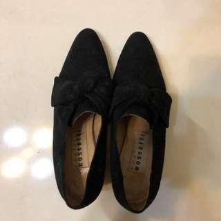Fratelli Rossetti 麂皮低根女鞋 size:35.5