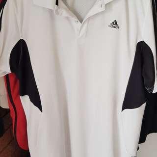 Men's Adidas Sport T Shirt White