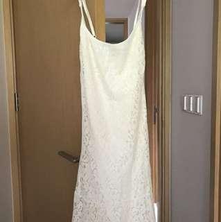 Lace dress cotton on