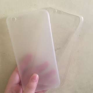 IP6+ Clear cases