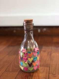 Glass Messengers' Bottle/Jar