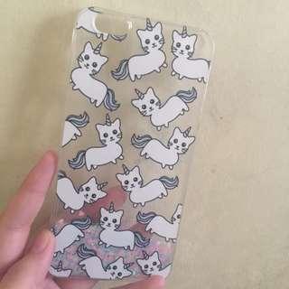 ip6+ cat unicorn case