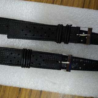 Vintage Tropic diver rubber strap