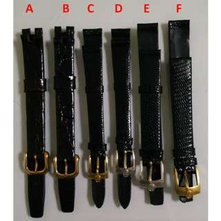 11mm Ladies Branded Watch Straps Band