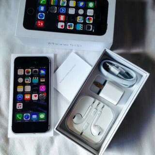 IPHONE 5S 16GB FU,NO ISSUE, COMPLETE PACKAGE