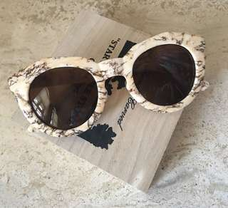 Marble Trendy Sunnies/Sunglasses