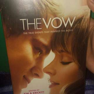 The Vow Book by Dana Wilkerson, Kim Carpenter, and Krickitt Carpenter