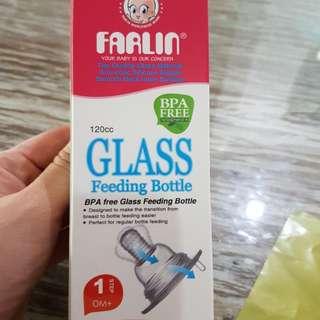 Botol susu kaca 120ml
