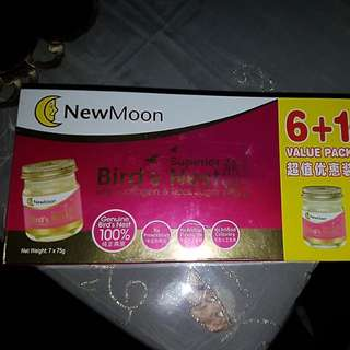 New Moon superior bird's nest with collagen and rock sugar 6+1 value pack
