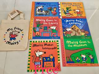 My Friend Maisy - Maisy's First Experiences Collection (5 Books + 1 free Maisy book)
