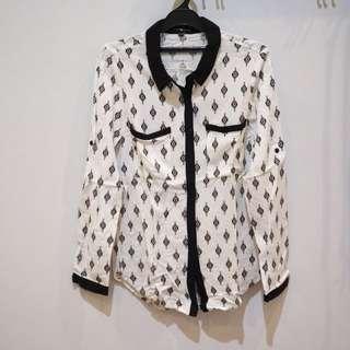 Cache white shirt