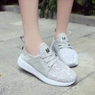 Ladies fashion shoes PU leather/canvas