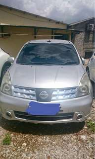 Nissan grand livina 1.8 AT ultimate 2007 jual cepat