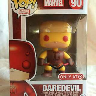Daredevil Target Exclusive Marvel 90 Funko Pop