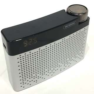 WK Design Bluetooth Speaker with FM