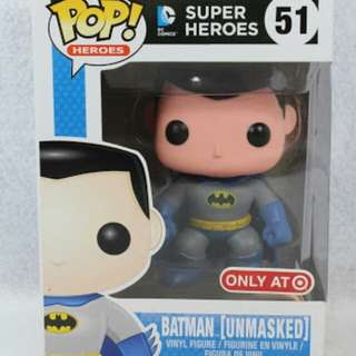 Batman Unmasked Target Exclusive Funko Pop