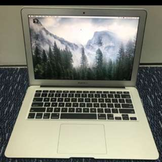 "MacBook Air 13"" 8gb Ram 2013 model"