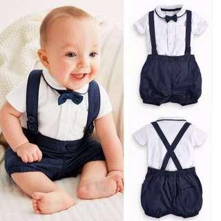🦁Instock - 3pc formal set, baby infant toddler girl boy children sweet kid happy