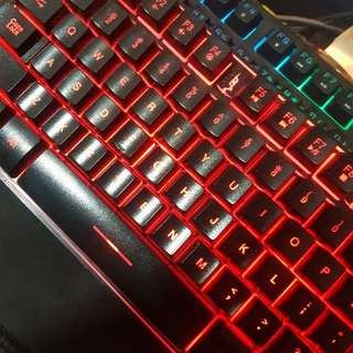 Gaming Keyboard TRI COLORS