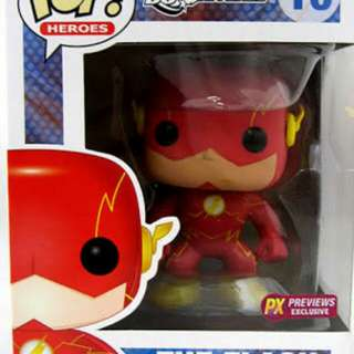 The Flash New 52 DC Universe Funko Pop Previews PX exclusive