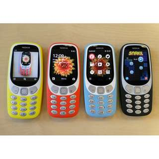 Nokia 3310 Dual Sim 3g 2017 ORIGINAL AUTHENTIC