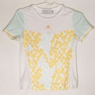 Adidas Stella McCartney Barricade Top Tennis Golf Tee Gym Workout