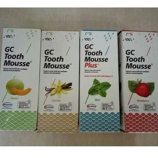 GC Tooth Mousse Strengthens, Protects, Desensitizes for Adults, Kids, Elderly, Orthodontic Patients