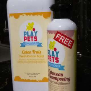 Pet Shampoo and Conditioner (Take 2)
