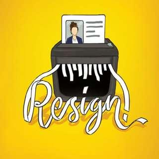 Ebook : Resign by Almira Bastari