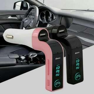 CARG7 Free LED Bluetooth car FM Transmitter MP3 Car Charger