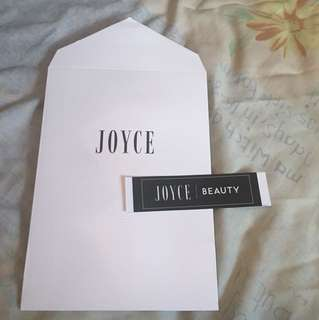 JOYCE beauty gift bag paper bag with sticker 禮物袋連貼紙 紙袋