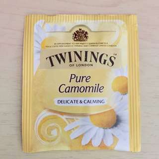 Twinings of London Tea bags,Pure Camomile,delicate & calming,川寧,茶包,洋甘菊茶,甘菊茶