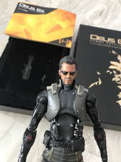 Dues Ex: Human Revolution Collector's Figurine [Adam Jensen]
