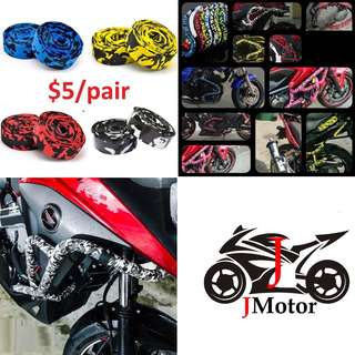 Motorbike / Motorcycle / Bicycle / Bike / Crash Bar / Handlebar Tapes