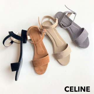 Available flats and 1inch heels