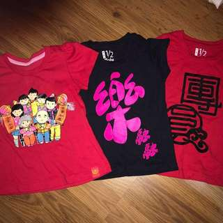 3pcs Girl T-Shirt