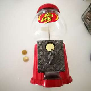🇺🇸🍭Jelly Belly Mini Bean Machine coin bank 迷你扭糖機+錢罌 (90% new)