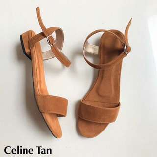 Availabale flats and 1inch heels