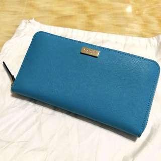 Kate Spade長銀包Tiffany blue