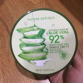 Nature republic soothing aloe vera