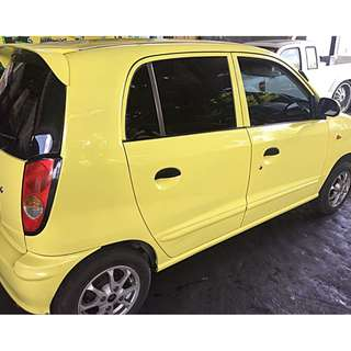 KIA Visto matik th 2001 asli Bali warna Tweety Yellow