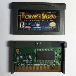 Prince of Persia THE SANDS OF TIME (Gameboy Advance SP) AUTHENTIC