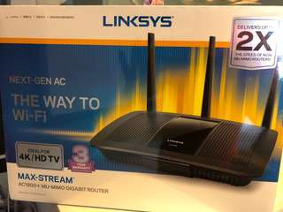 Linksys Wireless Router AC1900